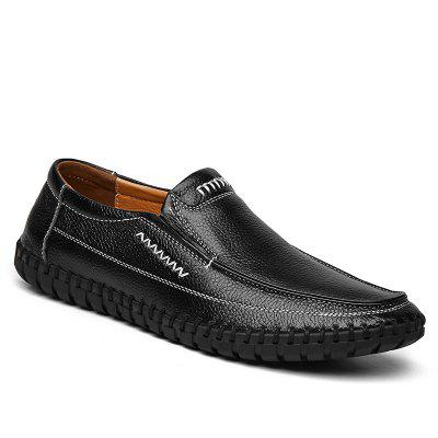 Leather Breathable Soft Soles Shoes