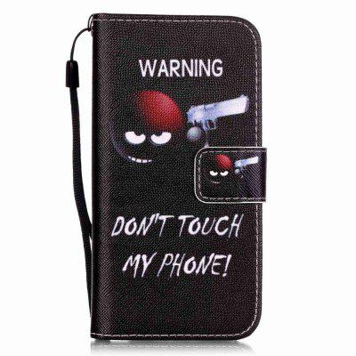Gunners Pattern PU Leather Flip Wallet Case for iPhone 7 / 8