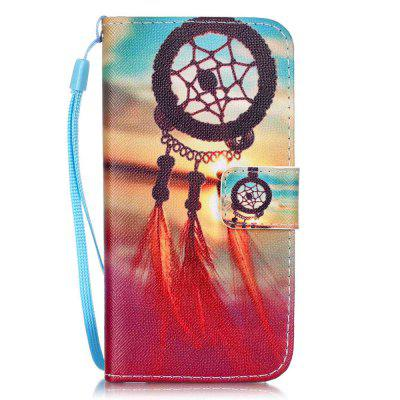 Wind Chimes Pattern PU Leather Flip Wallet Case for iPhone 7 / 8