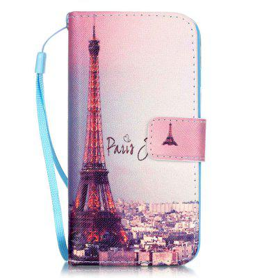 Tower Pattern PU Leather Flip Wallet Case for iPhone 7 / 8