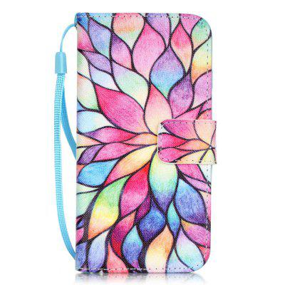 Lotus Pattern PU Leather Flip Wallet Case for iPhone 7 / 8