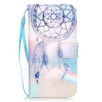 Dream Wind Chimes Pattern PU Leather Flip Wallet Case for iPhone 7 / 8