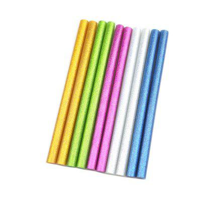 10 Pcs Color with Star 11X180MM Hot Melt Glue Stick 11MM DIY Multi-Function Repair Tools