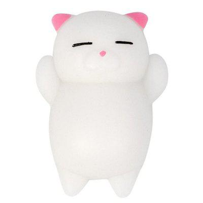 Cute Cat Style Jumbo Squishy Toy for Pressure Reducing