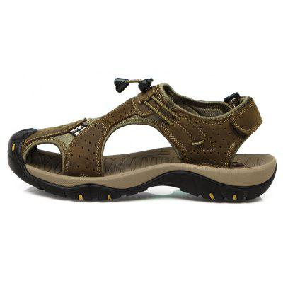 Summer Outdoor Comfort Leisure mens Sandals 39-45Mens Sandals<br>Summer Outdoor Comfort Leisure mens Sandals 39-45<br><br>Available Size: 39-45<br>Closure Type: Slip-On<br>Embellishment: None<br>Gender: For Men<br>Heel Hight: Ping<br>Occasion: Casual<br>Outsole Material: Rubber<br>Package Contents: 1 x Shoes (pair)<br>Pattern Type: Solid<br>Sandals Style: Slides<br>Style: Fashion<br>Upper Material: Full Grain Leather<br>Weight: 1.2000kg