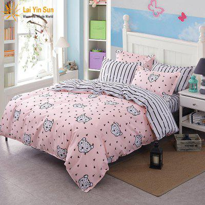Fashion Leopard Personalized Polyester Bedding Set