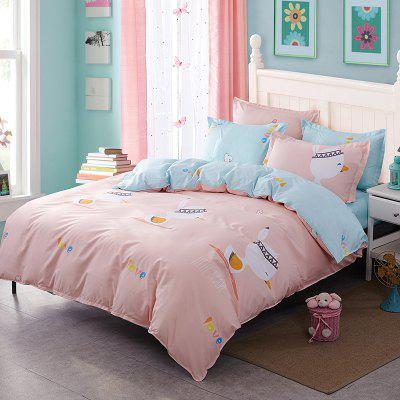 Fashion Adorable Duckling Personalized Polyester Bedding Set