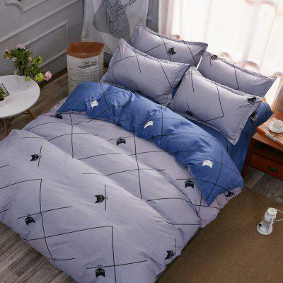 Fashion Cat Star Personalized Polyester Bedding SetBedding Sets<br>Fashion Cat Star Personalized Polyester Bedding Set<br><br>Package Contents: 1 x Bedding Set<br>Package size (L x W x H): 29.00 x 17.00 x 1.50 cm / 11.42 x 6.69 x 0.59 inches<br>Package weight: 1.3000 kg<br>Pattern Type: Novelty<br>Product weight: 1.2000 kg<br>Style: Fresh / Rural, Scenery / Landscape