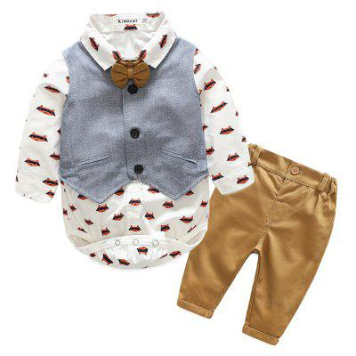 New Boy's Long Sleeve Suit for Autumn