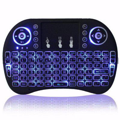 Air Mouse Keyboard Backlit Flying Squirrels I8 2.4GHz Wireless for Android TV Box and PC with TouchpadAir Mouse<br>Air Mouse Keyboard Backlit Flying Squirrels I8 2.4GHz Wireless for Android TV Box and PC with Touchpad<br><br>Package Contents: 1x Flying squirrels,    1xThe receiver,   1xEnglish instruction<br>Package size (L x W x H): 19.00 x 11.00 x 3.00 cm / 7.48 x 4.33 x 1.18 inches<br>Package weight: 0.1950 kg