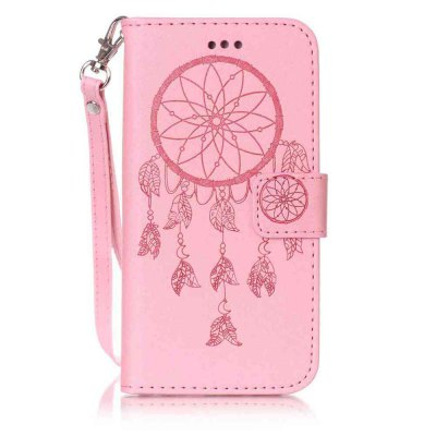 Double Embossed Dreamcatcher PU TPU Phone Case for iPhone 6  / 6S