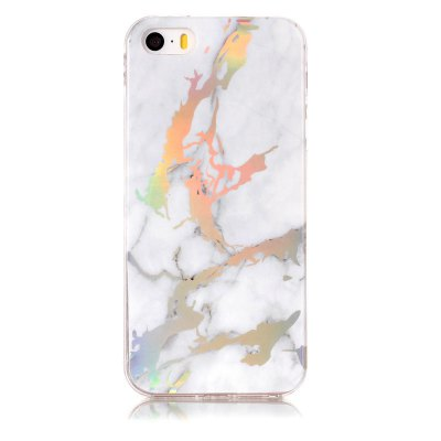 Buy TPU Material Color Plating Phone Case for IPhone SE/5s/5, WHITE, Mobile Phones, Apple Accessories, iPhone Accessories, iPhone Cases/Covers for $3.65 in GearBest store
