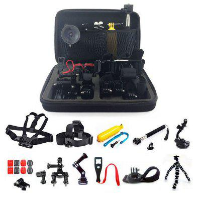 Accessory Kit for Gopro 20 in 1 Waterproof 147-Action Camera for Xiaomi