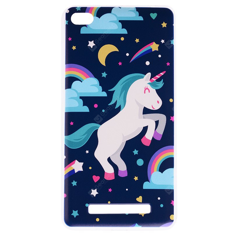 Pegasus Pattern Soft TPU Clear Case for Xiaomi Redmi 4A