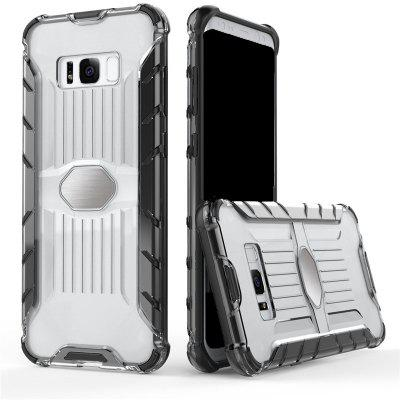 Luxury Armor Case for Samsung S8 Plus Transparent Car Phone Case Hard PC Plastic Back Cover for Samsung Galaxy S8Plus