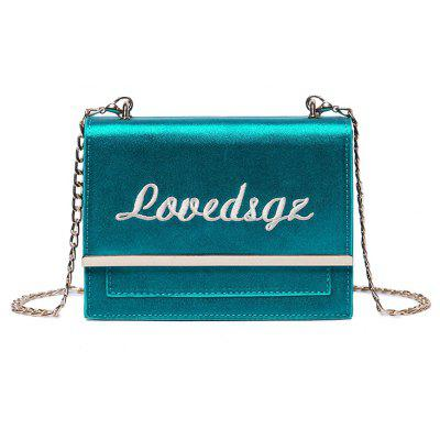 Mini Chain Small Bow Scarf All-match Suede Shoulder Messenger Bag