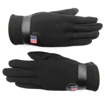 Outdoor Unisex Cold-proof Thermal Warm Touch Screen Velvet Gloves