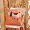 Weina Cartoon MultiFunction Hold Oreiller - ORANGE