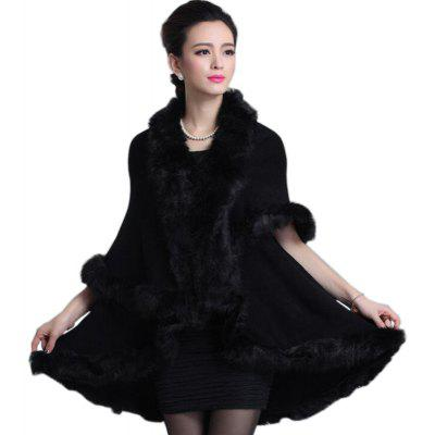 Women's Casual Daily  Faux Fur Coat