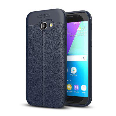 Buy DEEP BLUE Shockproof Back Cover Solid Color Soft TPU Case for Samsung Galaxy A5, 2017 / A520 for $4.62 in GearBest store