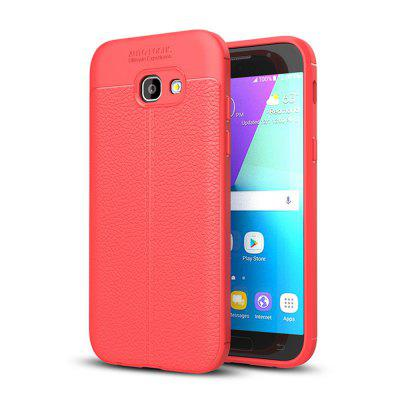 Buy RED Shockproof Back Cover Solid Color Soft TPU Case for Samsung Galaxy A5, 2017 / A520 for $4.62 in GearBest store