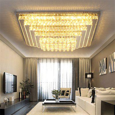 75W Remote Control Crystal LED Ceiling Lamp 220V