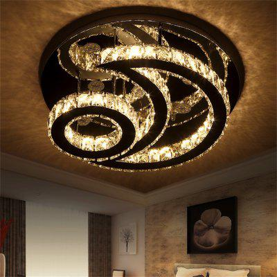 128W LED Ceiling Lamp Stepless Adjustable Light Cutting Process  Hollowing Out The Sun And Moon 220V