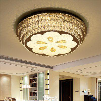 72W LED Round Ceiling Lamp Stepless Adjustable Light Cutting Process 220V