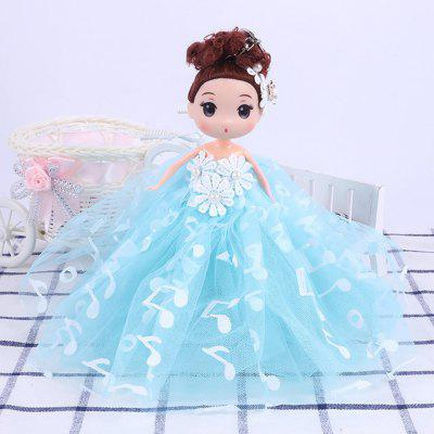 18CM Wedding Dress creative Cartoon  Doll Toy