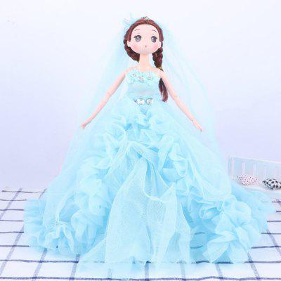 30 CM Fashionable Large Trailer Wedding Dress Doll Toy Pendant