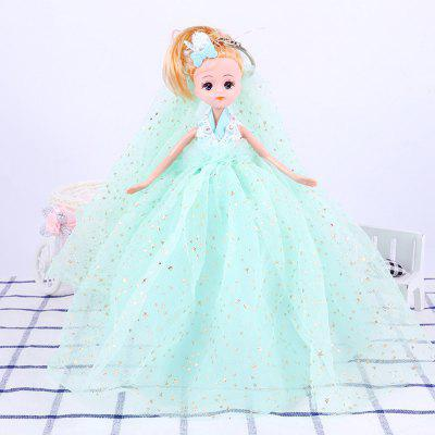 26CM Romantic Wedding Dress Doll Toy Pendant