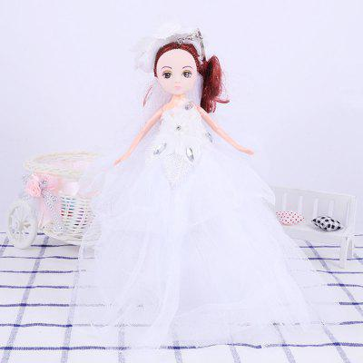 26CM Wedding Doll Princess Keychain Hanging Toy