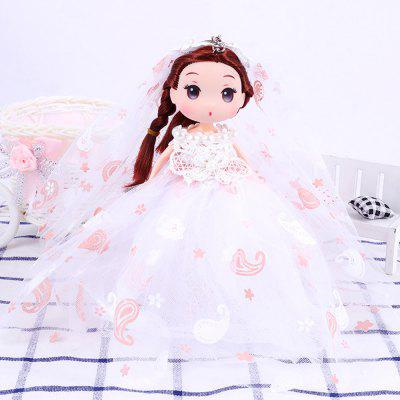 18CM Wedding Dress Creative Cartoon toy Doll pendant