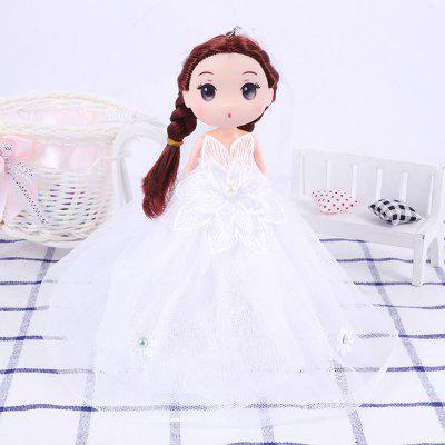 18CM Wedding Dress Doll Cartoon Toy Pendant