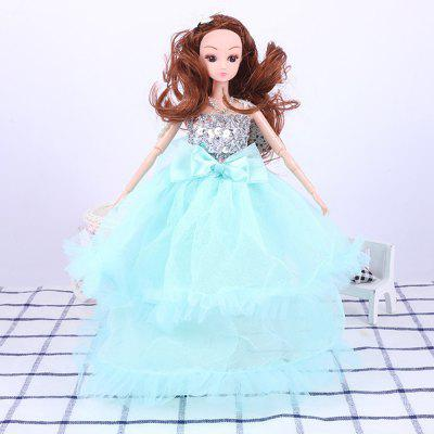 30CM Large Wedding Dress Doll Toy Pendant