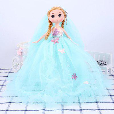 26CM Wedding Dress Lace Doll Toy Pendant