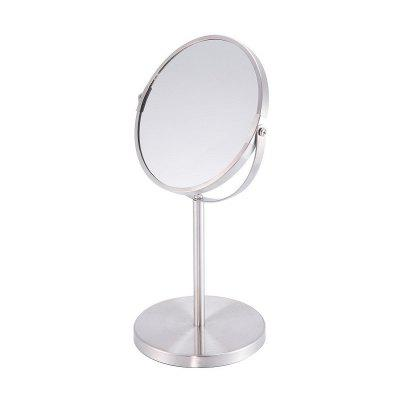 Round Shaped Double-Side Beauty Makeup Mirror Standing 1x/3x Magnifying 7 Inchs