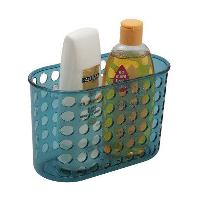 Bathroom Corner Storage Basket Shower Rack Soap Shelf Organiser Cup Tidy Suction 239142001