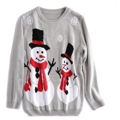 Christmas Snowman Doll Sweater