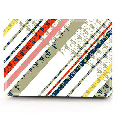 Computer Shell Laptop Case Keyboard Film for MacBook Retina 15.4 inch Touch 2016 3D Colorful Geometric Shapes