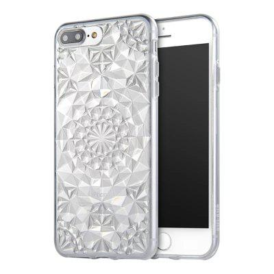 Soft Flexible TPU Rubber Diamond Bling Glitter Protective Case Cover for iPhone 7 Plus / 8 Plus