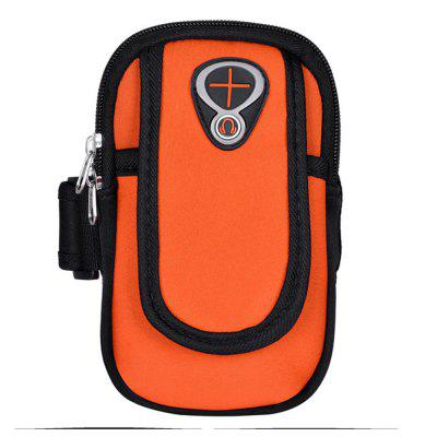 Sweatproof Sports Neoprene Arm Bag Armband Package with Mobile Phone MP3 Wallet Key Card Money Holder