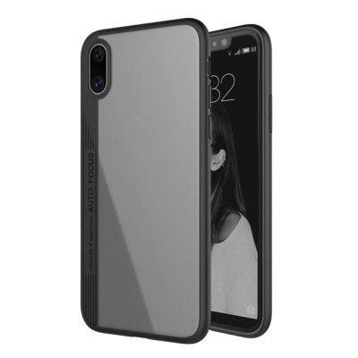 Cubierta original de Silicona Edge Edition negra para funda iPhone X