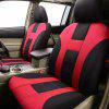 Uinversal Red Full Car Seat Cover - BLACK RED