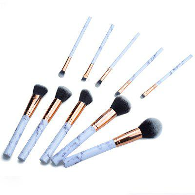 10 marble makeup brushes