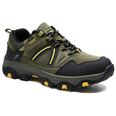 Autumn  Winter Thick Bottom Wear-Resisting Mountain-Shoes Anti-Skid Hiking  Outdoor Shoe Man