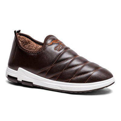 Leisure and Cotton Casual Platform Shoes