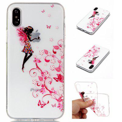 The Elves Soft TPU Silicone Case Cover para iPhone X