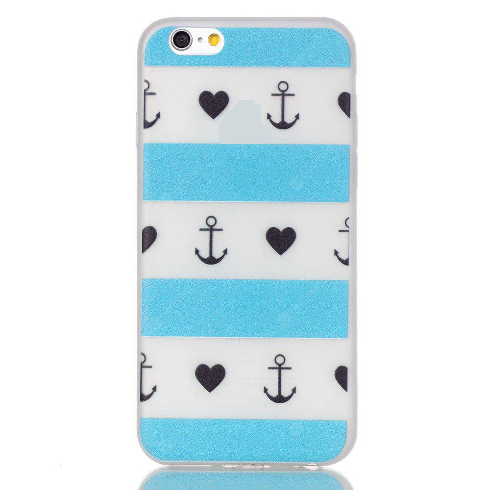 Custodia in silicone TPU sottile sottile ultra sottile di Lattice per iPhone 6 Plus / 6s Plus