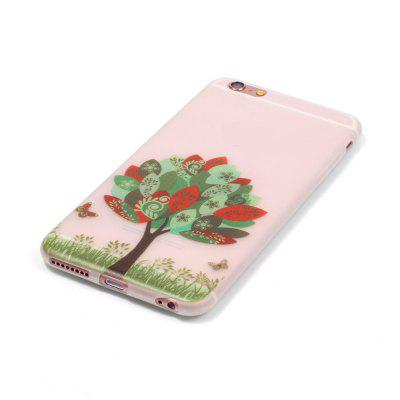 Custodia in silicone TPU ultra sottile sottile sottile per iPhone 6 / 6s
